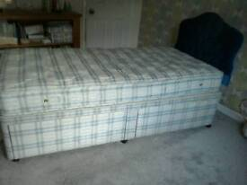 Single bed 3 ft