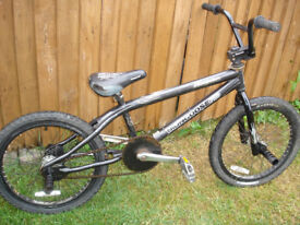 bmx mongoose stunt bike to clear