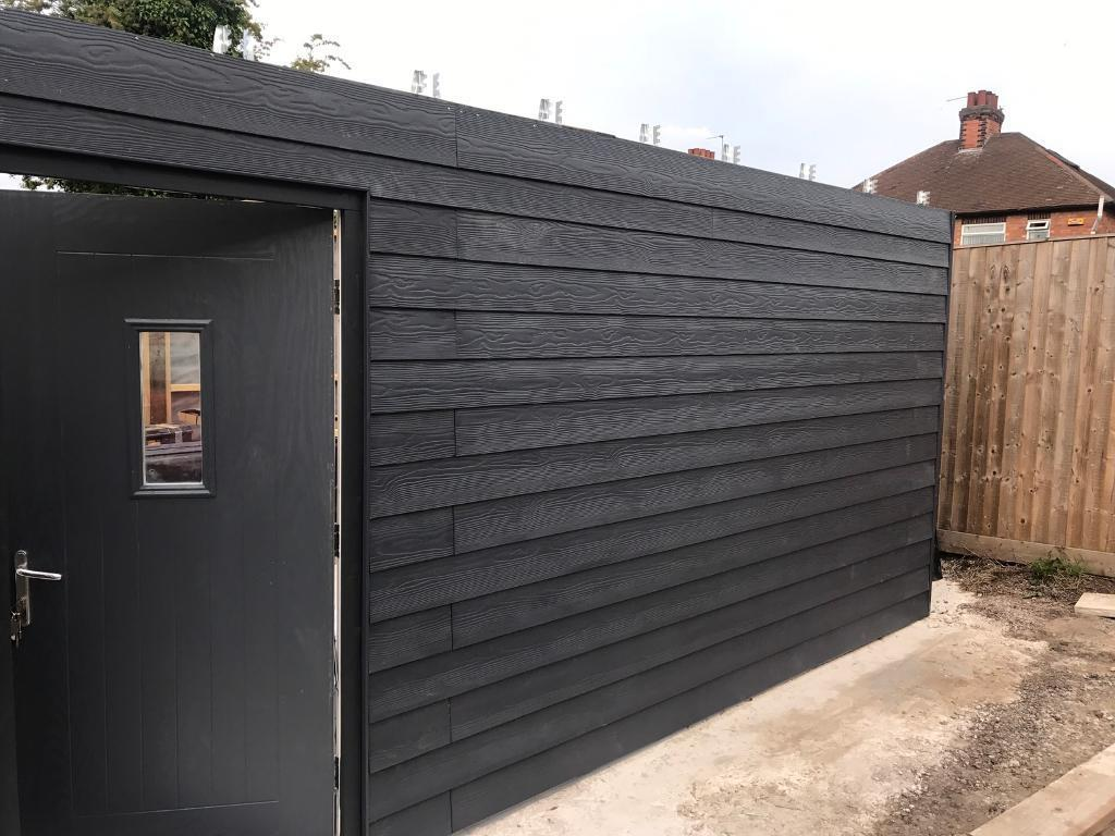 marley eternit cedral weatherboard cladding 10 lengths slate grey colour in arnold. Black Bedroom Furniture Sets. Home Design Ideas