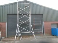 boss scaffold tower 6;5m working