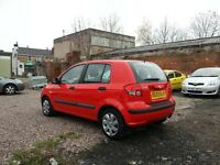 3003 (53) HYUNDAI GETZ 1.1 Petrol, 5 doors, cheap insurance, great car