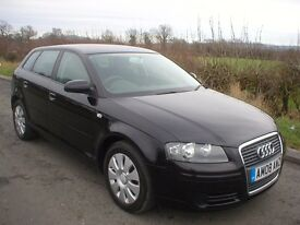 2008 AUDI A3 1.6 SPECIAL EDITION - SERVICE HISTORY - PREVIOUS MOT'S - GREAT DRIVE