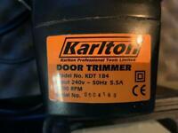 Karlton Door Trimmer, Carpentry Power Tool, Perfect for Flooring Installers.