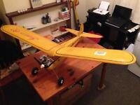 Nitro / methanol glow plug aircrafts