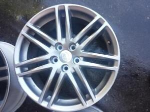 TWO RIMS NOT FOUR  NO SENSORS  SCION TC FACTORY OEM 18 INCH  RIMS IN EXCELLENT CONDITION