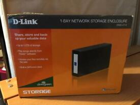 D Link DNS 313 network storage enclosure