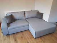 Less than half price Mayne right hand grey sofa bed MADE brand // free delivery