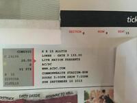 2 AC/DC Tickets Edmonton