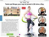 Twist &Shape exercise machine