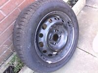 vauxhall corsa wheel , brand new continental tyre £30