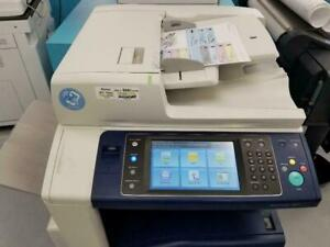 Xerox Workcentre 7845 WC 7845i Color Laser Multifunction Printer Copier Scanner REPOSSESSED with 45PPM Printing speed.