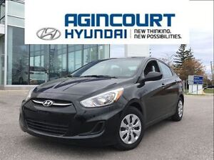 2016 Hyundai Accent GL/HEATED SEATS/BLUETOOTH/ONLY 43511KMS