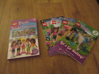 POPULAR LEGO FRIENDS READER COLLECTION X4 - GC