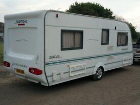 Coachman pastiche caravan 530/4 2004
