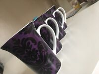 Set of 4 Purple Cups - never used perfect condition