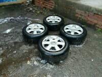 """Vw audi seat skoda etc 5x112 16"""" vw alloys and tyres"""