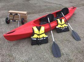 Double Canoe Cambridge kayak