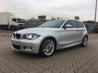 BMW 1 Series 1.6 116i M Sport 3dr │Half Leather │ Rear Sensors │ Xenon │1 Year MOT