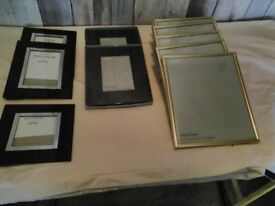 Photo frames assorted sizes