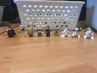 Star Wars Lego figures some are *limoted edition*
