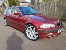 2001 BMW 3 SERIES TOURING 330i SE AUTOMATIC ESTATE, FULL SERVICE HISTORY, FULL LEATHER HEATED SEATS