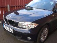 BMW 1SERIES, MODEL E87 118dSE 5DOOR HATCH DARK BLUE