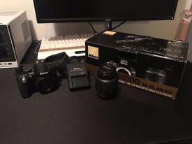 Nikon D3100 Professional DSLR Camera - Great Condition
