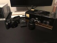 Nikon D3100 Professional DSLR Camera - Great Condition
