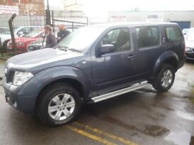 Nissan PATHFINDER Trek DCI,2488 cc 5 door 4x4,FSH,full MOT,runs as new,tow bar fitted,*now reduced*