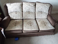 free 2 piece suite armchair and sofa