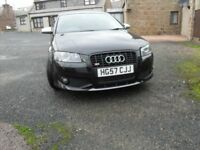 ** AUDI S3** S LINE TFSI QUATTRO FSH 70000MILES NEW ALLOYS AND TYRES MOT FEB 18 IMMAC IN/OUT