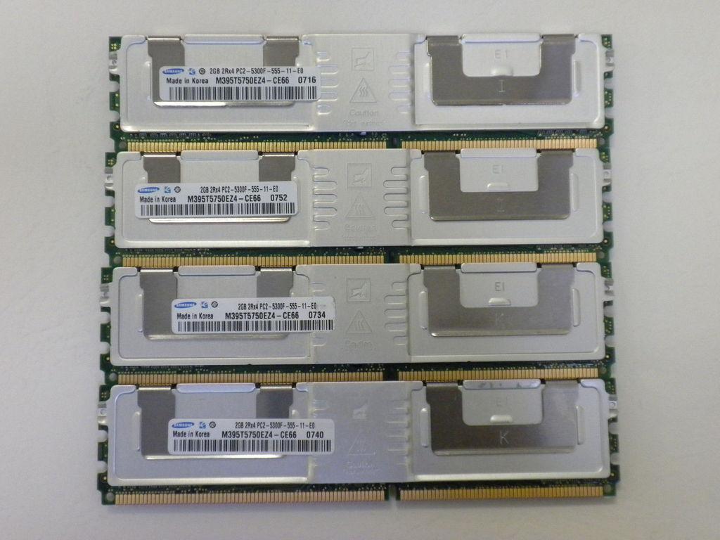 8GB 4x2GB PC2-5300 ECC Registered Dell PowerEdge 2970 Server NOT FOR PC//MAC