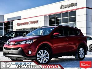 2015 Toyota RAV4 Limited ONLY 13178 KMS!!