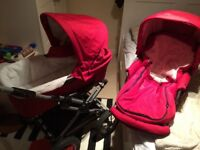 Pram and buggy in excellent condition