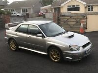 Subaru Impreza 2.0 WRX STI type UK
