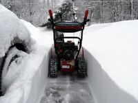 Offering Snow Removal - snowblowing & shovelling in New Maryland