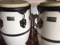 Conga Drums and Stand £50 Ono