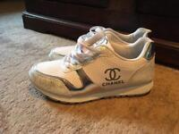 Chanel ladies trainers size 4 uk