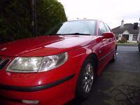 SAAB 95 Vector diesel auto, 2003, full mot, cruise, tow bar, leather, new discs/brakes