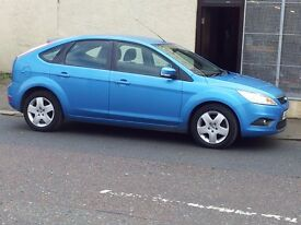 2008 ford focus 1.6 style.100.hatchback.full service records.anti-lock brakes.petrol.