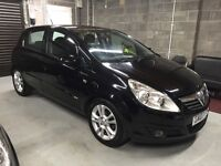2007 Corsa D Black 1.2 SXI 5dr, Low Miles 76K, 1 Year MOT, Serviced, Valeted, Immaculate Inside Out