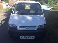 Suzuki carrier 2004 1.3 petrol new mot clean all round px vehicle twin side loading doors