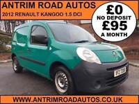 2012 RENAULT KANGOO 1.5 DCI ** ONE COMPANY OWNER FROM NEW ** FINANCE AVAILABLE WITH NO DEPOSIT **