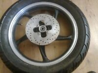 Rear Wheel with disk sprocket Off 125/Skyjet and other bikes to £60