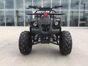 FREE SHIPPING Venom 110cc Kodiak ATV Quad Front & Rear Racks + REVERSE + 7 Inch Tires + Speed Governor - Fully Automatic