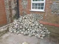 Flint Cobble Stones