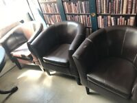 x3 Arm chairs