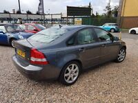 2005 Volvo S40 2.5 T5 Turbo Saloon same engine as focus ST Full Leather Fast lucury car BARGAIN