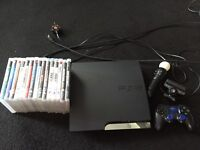 Playstation 3 250 GB with PlayStation Move & Camera & Games