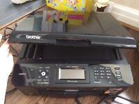 Brother Wireless Inkjet Printer Fax scanner MFCJ825DW